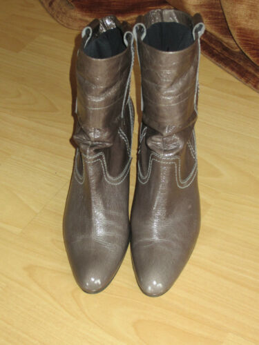 5 Stiefel Stiefeletten 39 6 Abro Lackleder Gr x8TPwBnnOq