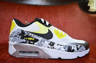 Nike Air Max 90 Ultra 2.0 Doernbecher Oregon AJ7560 100 Size 6.5Y Yellow White B