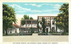Pawnee City Nebraska >> Details About C1920 The Pawnee Hospital And Maternity Annex Pawnee City Nebraska Postcard