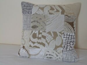 Gorgeous Patchwork Cushion Covers White