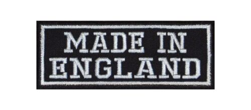MADE in England Motociclista PATCH RICAMATE MOTORCYCLE MC Country nazione ORIGIN area