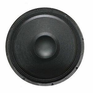 """STARAUDIO Dual 3500W 18/"""" Raw DJ Speaker Sub Woofer PA Bass 8 Ohm Replace Woofers"""