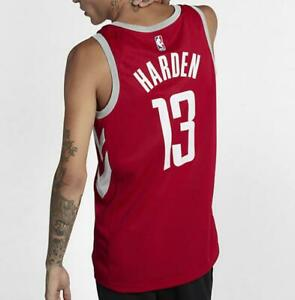 hot sales 866ed 14f70 Details about Nike NBA Connected Houston Rockets James Harden Icon Swingman  Jersey 864477-657