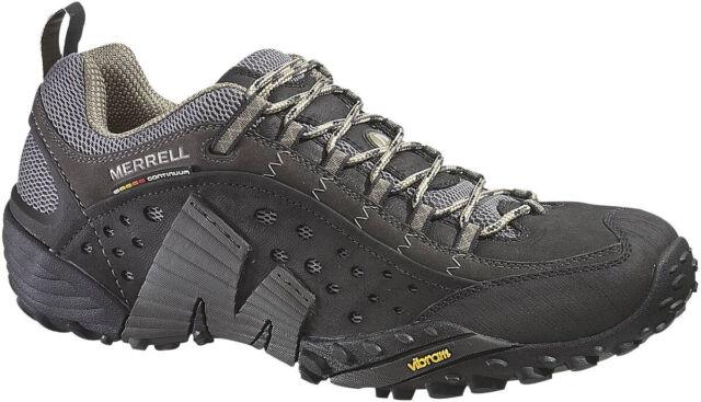 Merrell Mens Intercept Walking Hiking Shoe J73703 Black
