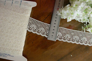 Polyester-Floral-Edging-Lace-IVORY-42mm-Wide-5-Metre-Length-Flt6