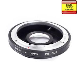 Anillo adaptador lentes Canon FD a Canon EOS EF-S