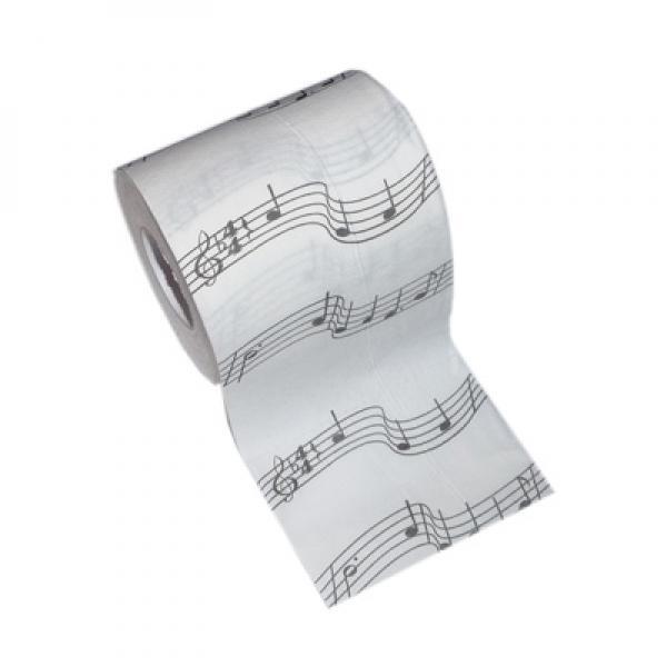 50 x Rouleaux de musique notes Nouveauté Toilette Tissu Loo Paper Wholesale Qté. 50 x X73