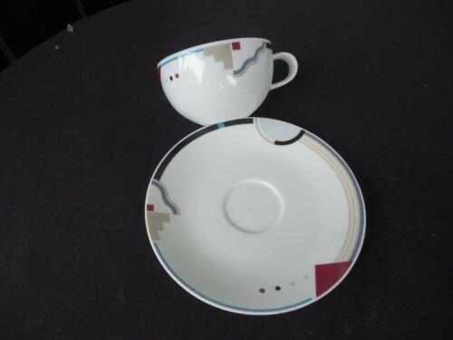 art deco design studio nova attitudes tea cup /& saucer y0105