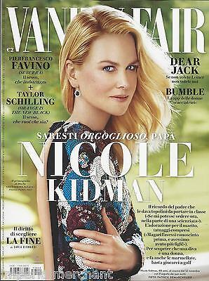 Vanity Fair Italian magazine Nicole Kidman Taylor Schilling Peanuts Dear Jack
