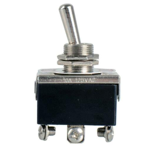 6 Pin DPDT 3 Position ON-OFF-ON Toggle Switch Reverse Polarity Motor 15A 250V