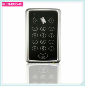 Access-Controller-Keypad-1K-user-13-56MHz-IC-card-reader-Extendable-Standalone