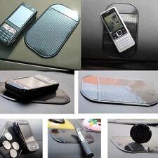 2pc/set Car Anti-Slip Pad Mat Gel Dashboard Sticky Holder For Mobile Phone Black