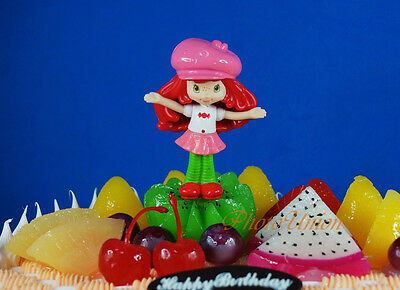 Cake Topper Strawberry Shortcake Life is Delicious Figure ...