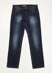Morris-jeans-uomo-usato-slim-skinny-denim-w32-tg-46-denim-blu-boyfriend-T3739