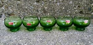 MCM-Vintage-green-shot-glasses-sake-glasses-sipping-70s-made-in-Italy