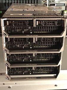 Dell-M620-Blade-Server-Two-Xeon-E5-2667-64GB-RAM-10Gb-bNDC-CTO-2x-SFF-H710