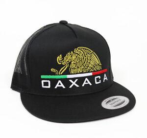 Image is loading Gorra-Media-Aguila-Oaxaca-Mexico-Snap-Back-Trucker- 33198d07064