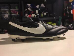 167201c82 Nike Premier FG Soccer Cleat Black White Kangaroo Leather 599427-018 ...