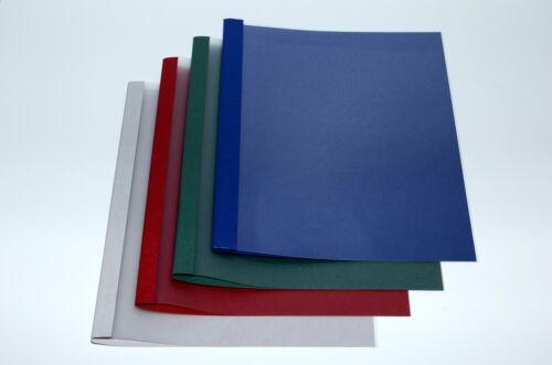 Leinen blau 1,5 mm Thermobindemappen Bindemappen