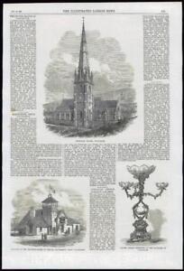1869-Antique-Print-LANCASHIRE-TODMARDEN-UNITARIAN-CHAPEL-RIFLE-VOLUNTEER-086