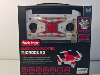 New sealed Tech Toyz AeroDrone Micro quad Wireless Indoor Quadcopter black