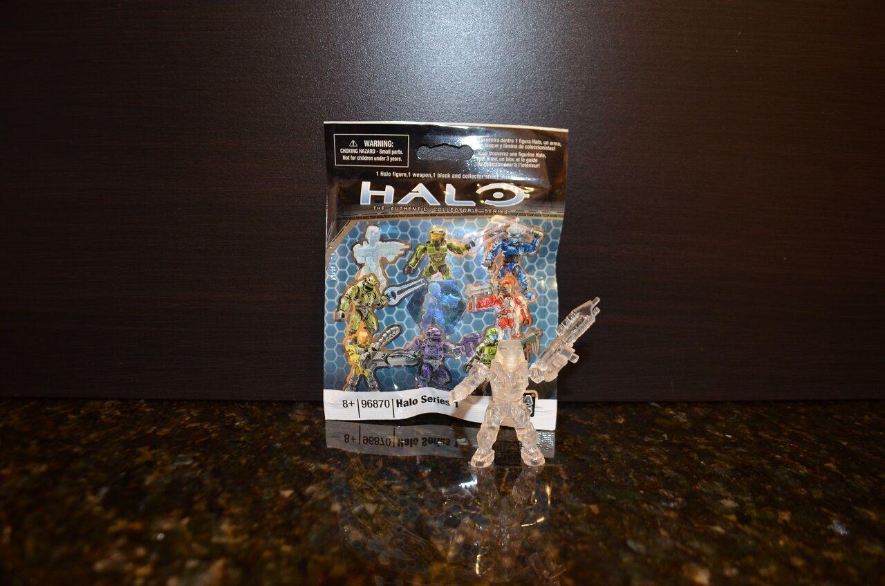 Halo - mega - bloks reihe 1 - klar, aktive camo spartanische ii mark iv vhtf versiegelt