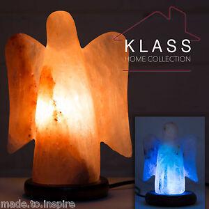 Image Is Loading Natural Ionising Himalayan Rock Crystal Angel Salt Lamp