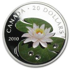 Canada / Kanada - 20$ 2010 Water Lily