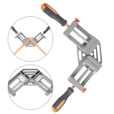 Double Handles 90 Degree Right Angle Clamp Clip Woodworking Jigs 28mm deep