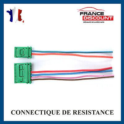 KIT DE REPARATION CONNECTIQUE FAISCEAU RESISTANCE DE CHAUFFAGE CITROEN 4 FILS
