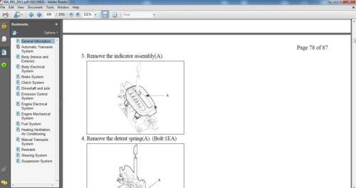 Kia Rio 2005-2011 Factory service repair manual