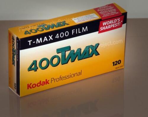 5-Roll Pro Pack - Fresh Dated 120 Film Kodak TMax 400