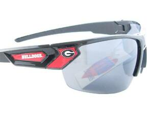 9beb11adb50 Georgia Bulldogs Black Red Mens Sport Sunglasses UGA Gift Licensed ...