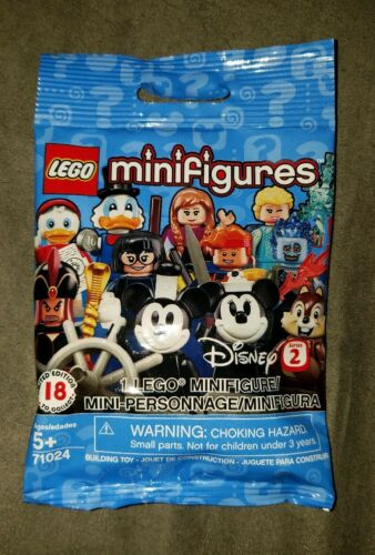 Factory Sealed Lego DEWEY DUCK Disney Series 2 Minifigure #4 71024