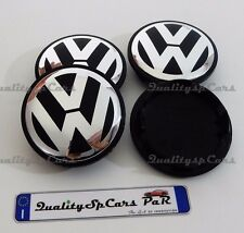 4 TAPPI coprimozzo VOLKSWAGEN 65 mm car wheel caps GOLF POLO PASSAT SCIROCCO TIG