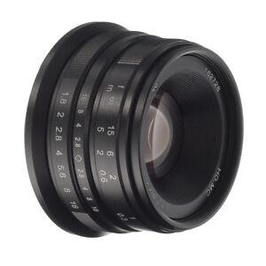 25mm-F-1-8-Manual-Focus-Lens-for-Panasonic-Olympus-M4-3-Mount-GF9-GH5-E-M5-II