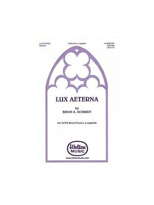 2019 Latest Design Lux Aeterna Sing Vocal Voice Musician Birthday Present Gift Music Book Choral Elegant In Style