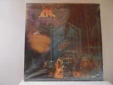 """DARK ANGEL-DARKNESS DESCENDS-COMBAT RECORDS-88561-8114 -SHRINK ON COVER-""""SIGNED"""""""