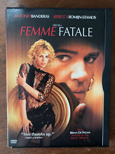Femme-Fatale-DVD-2002-De-Palma-Noir-Thriller-Movie-Region-1-in-Snapper-Case
