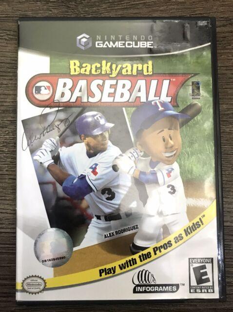 Backyard Baseball (Nintendo GameCube, 2003) Complete And ...
