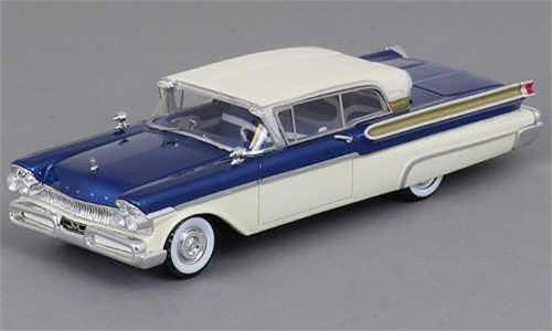 1957 MERCURY TURNPIKE coupé en bleu métallique  échelle 1 43 par Neo  authentique en ligne
