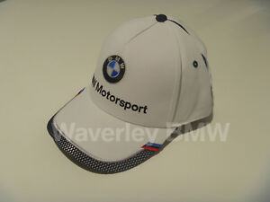 BMW Cap M Motorsport Collectors Unisex Genuine BMW Lifestyle 80162461127