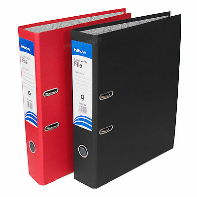 3 x Foolscap Cloud Lever Arch Files Large Paper Office Document Storage Folders