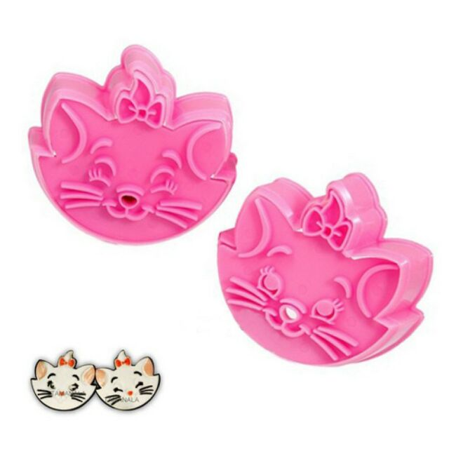 Fondant Cake Cookie Cutter Mold Mould Cartoon DIY Fun Marie cat