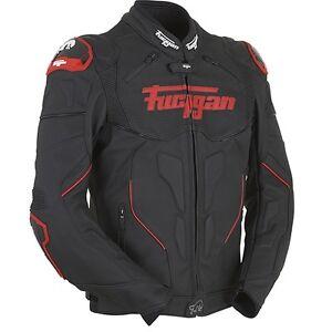Furygan-Raptor-noir-ducati-rouge-etanche-CUIR-MOTO-VESTE-DE-SPORT