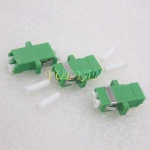 10 Pcs LC to LC Fiber Coupler Flange Fiber Optical Adapter Connector Singlemode