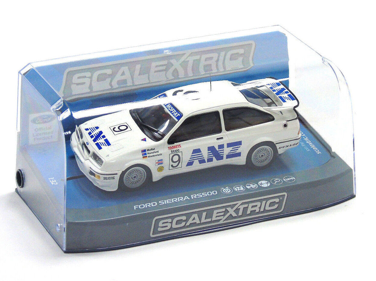 C3910 Scalextric Slot Car Ford Sierra RS500 1988 Bathurst  9 1 3 2 Scala Nuovo