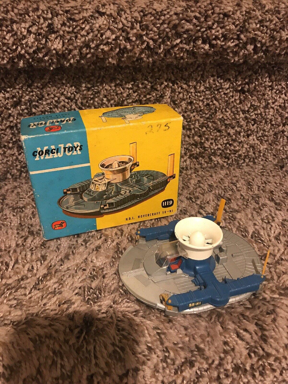 Corgi Toys H.d.l Hovercraft Sr-n1 Vintage Toy