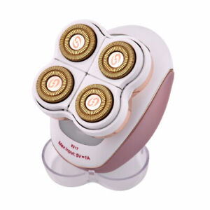 4 Heads Electric Wet Dry Hair Removal Machine Epilator Face Body