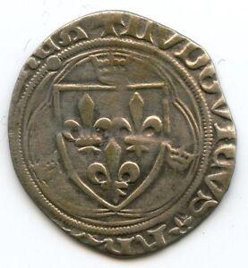 Louis Xi (1461-1483) White To The Crown Saint Lo Dy.550C